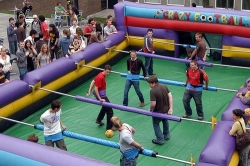 Inflatable Football Tournament