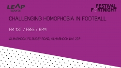 Challenging Homophobia in Football