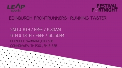 Edinburgh Frontrunners- Run Taster