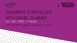 Children's Storytelling Session with Rachel Plummer