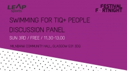 Swimming For TIQ+ People Discussion Panel