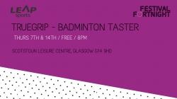 Truegrip - Badminton Taster