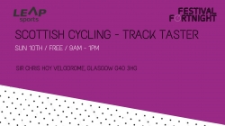 Scottish Cycling- Track Taster