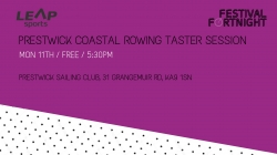 Prestwick Coastal Rowing Taster Session
