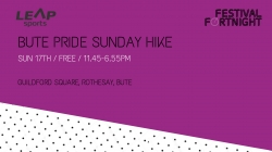 Bute Pride Sunday Hike