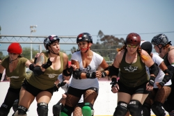 On Track to Roller Derby