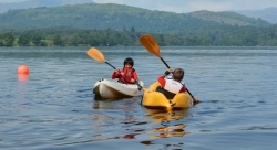 Without a Paddle in Loch Ore